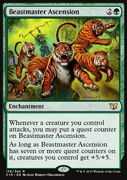 Beastmaster Ascension, Commander 2015