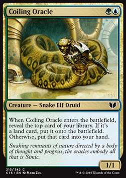Coiling Oracle, Commander 2015