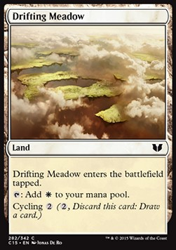 Drifting Meadow, Commander 2015