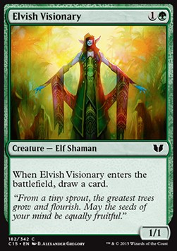 Elvish Visionary, Commander 2015