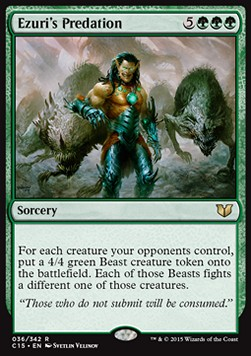 Ezuri's Predation, Commander 2015