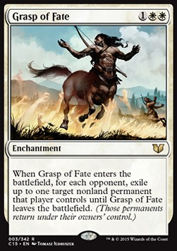 Grasp of Fate, Commander 2015