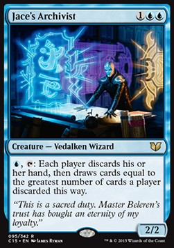 Jace's Archivist, Commander 2015