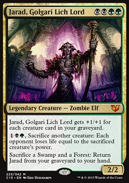Jarad, Golgari Lich Lord, Commander 2015