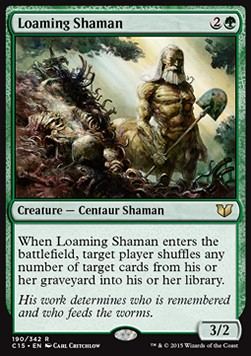 Loaming Shaman, Commander 2015