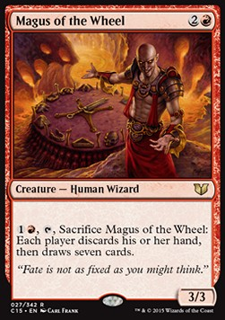 Magus of the Wheel, Commander 2015