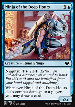 Ninja of the Deep Hours, Commander 2015