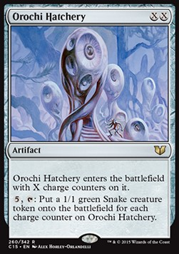 Orochi Hatchery, Commander 2015