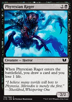 Phyrexian Rager, Commander 2015
