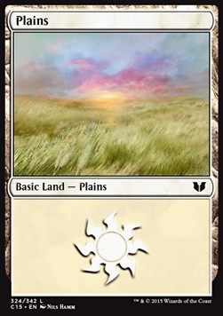 Plains, Commander 2015