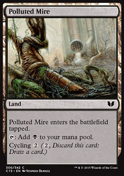 Polluted Mire, Commander 2015