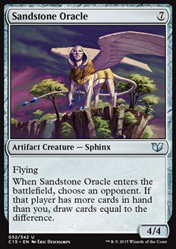 Sandstone Oracle, Commander 2015