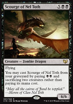 Scourge of Nel Toth, Commander 2015