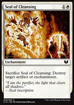 Seal of Cleansing, Commander 2015