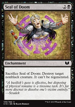 Seal of Doom, Commander 2015