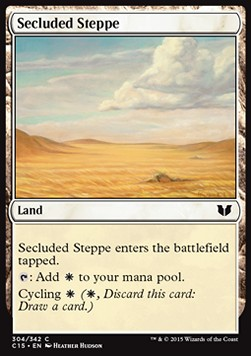 Secluded Steppe, Commander 2015
