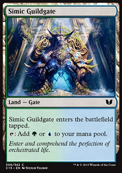 Simic Guildgate, Commander 2015