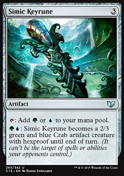 Simic Keyrune, Commander 2015