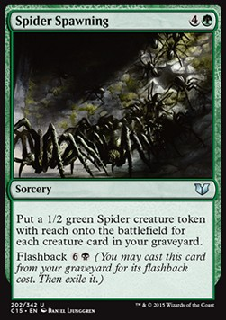 Spider Spawning, Commander 2015