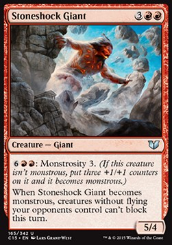 Stoneshock Giant, Commander 2015