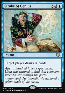 Stroke of Genius, Commander 2015