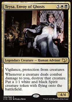 Teysa, Envoy of Ghosts, Commander 2015