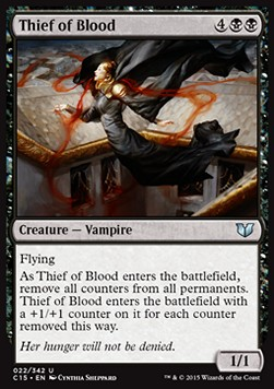 Thief of Blood, Commander 2015