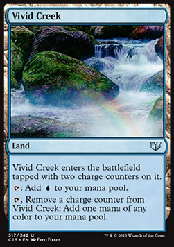 Vivid Creek, Commander 2015