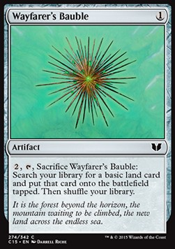 Wayfarer's Bauble, Commander 2015