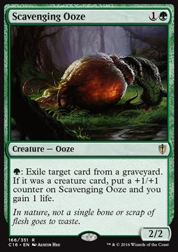 Scavenging Ooze, Commander 2016