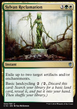 Sylvan Reclamation, Commander 2016