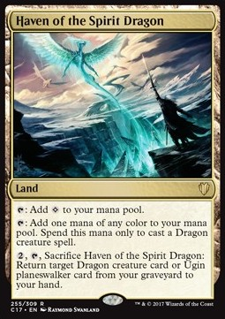 Haven of the Spirit Dragon, Commander 2017