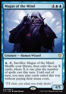 Magus of the Mind, Commander 2017