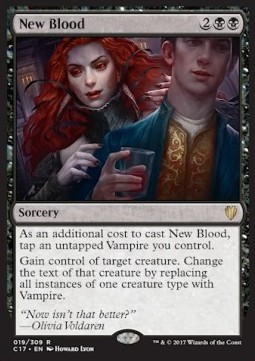 New Blood, Commander 2017