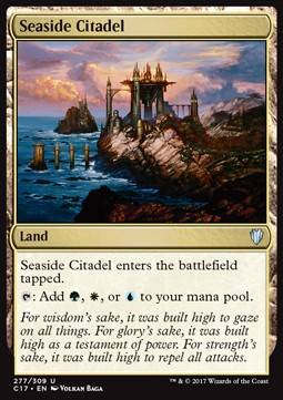 Seaside Citadel, Commander 2017