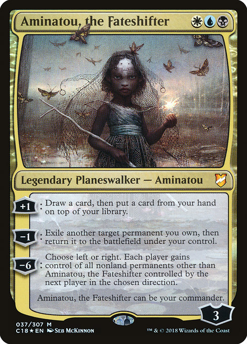 Aminatou, the Fateshifter, Commander 2018