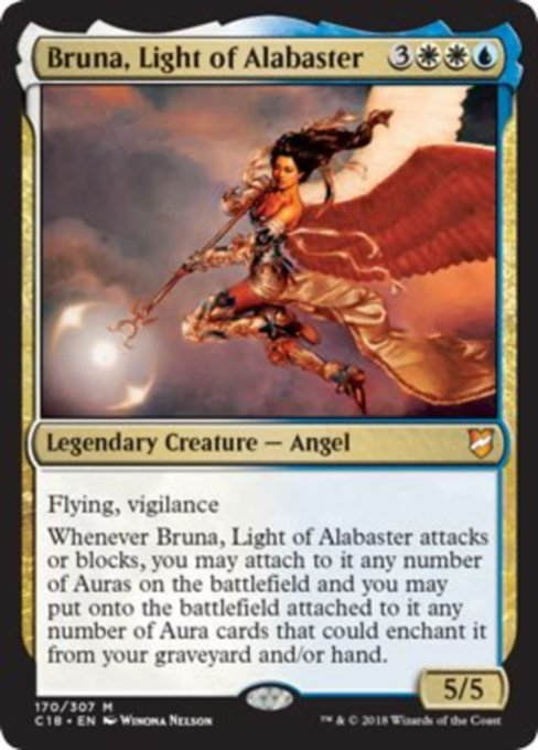 Bruna, Light of Alabaster, Commander 2018