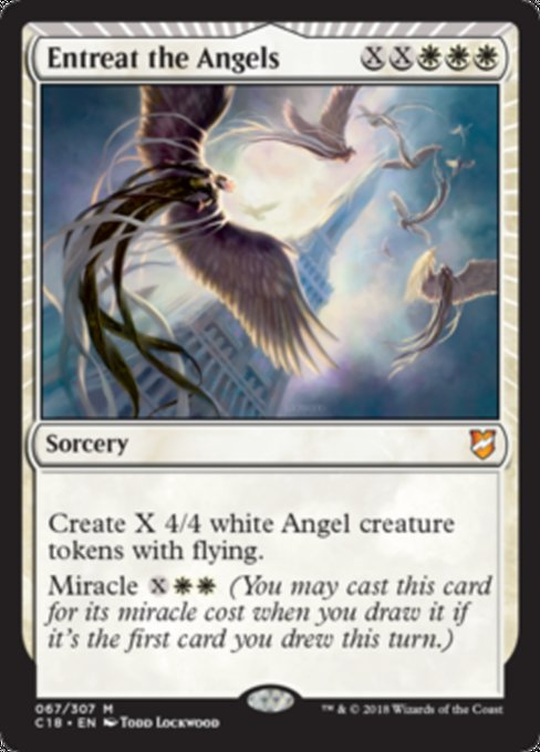 Entreat the Angels, Commander 2018