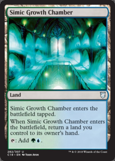 Simic Growth Chamber, Commander 2018