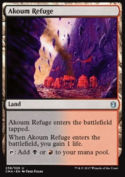 Akoum Refuge, Commander Anthology