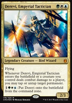 Derevi, Empyrial Tactician, Commander Anthology