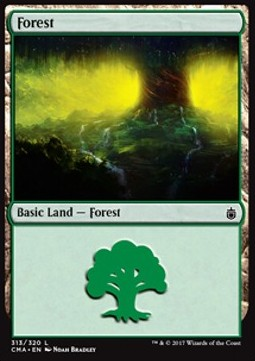 Forest, Commander Anthology