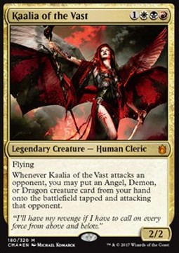 Kaalia of the Vast, Commander Anthology