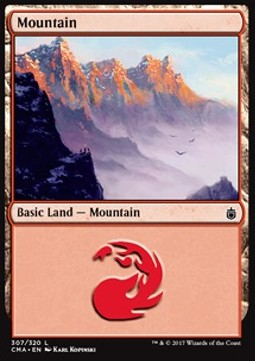 Mountain, Commander Anthology