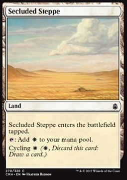 Secluded Steppe, Commander Anthology