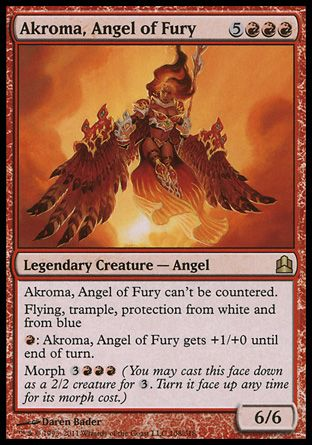 Akroma, Angel of Fury, Commander