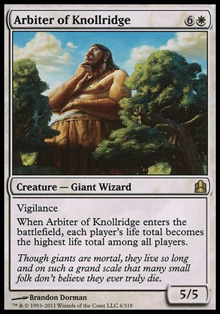 Arbiter of Knollridge, Commander