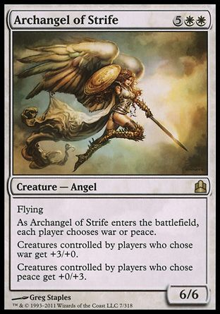 Archangel of Strife, Commander
