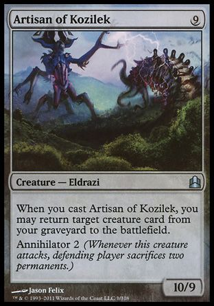 Artisan of Kozilek, Commander