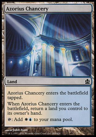 Azorius Chancery, Commander
